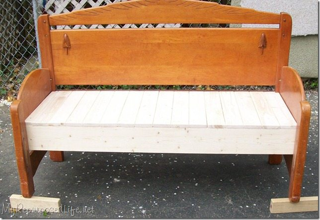 Painting Wooden Daybed