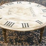 Faux Clock Table