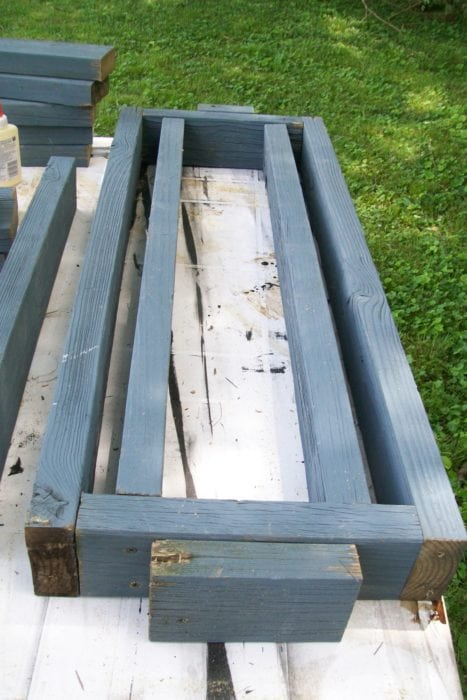 designing 2x4 bench