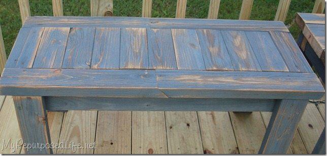 2x4 bench diy