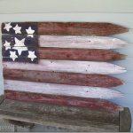 Rustic Flag