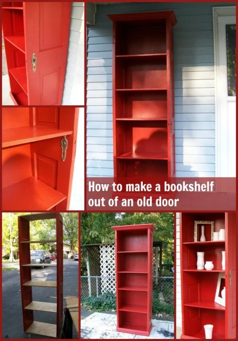 How To Make Bookshelf Door