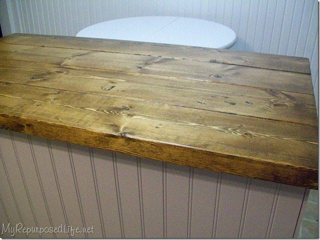 Repurposed Desk Island