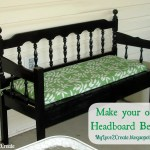 50 Headboard Bench Ideas My Repurposed Life Rescue Re Imagine Repeat