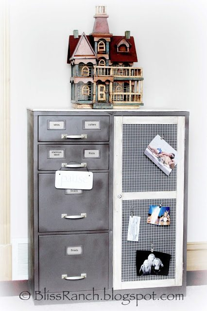Storage Cabinet Makeover My Repurposed Life 174