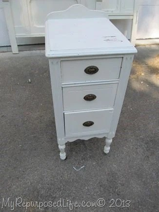 small vintage nightstand