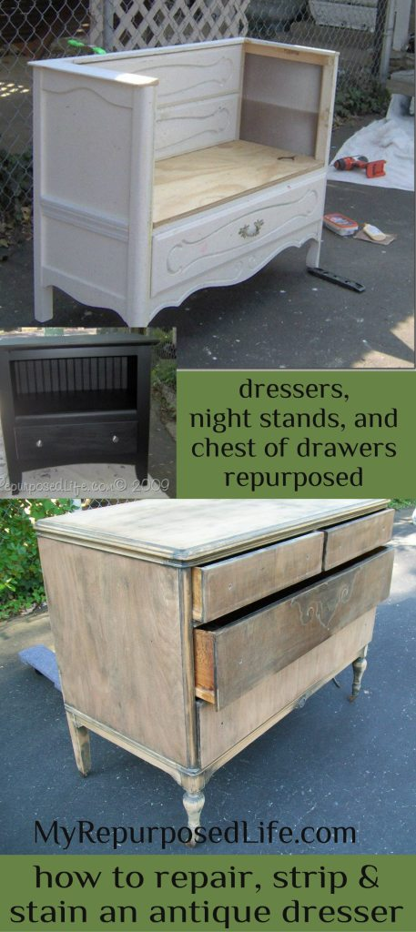 My Repurposed Life-dressers, chests, nightstands and more