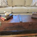 Repurposed Vintage Ammo Box Coffee Table