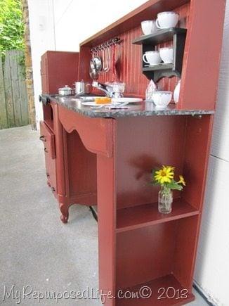 kid's kitchen shelf