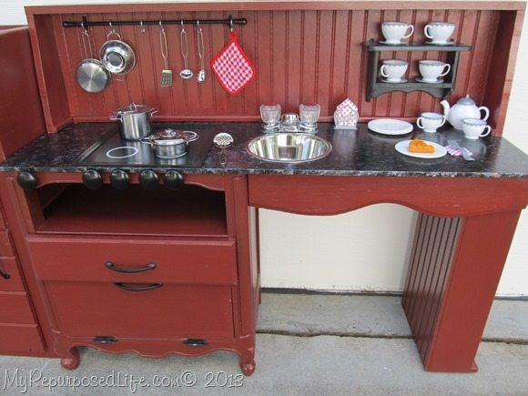 kitchen center from night stand