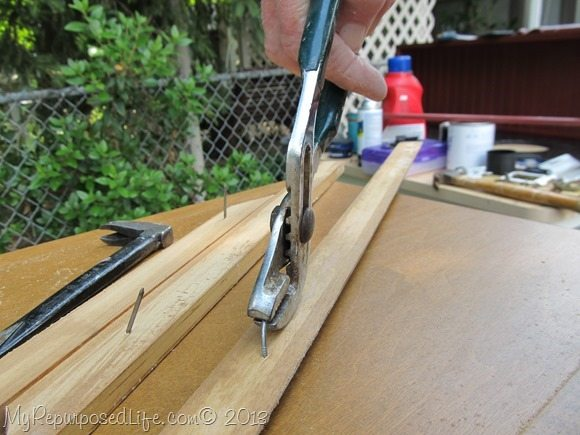 tip-how to remove finish nails