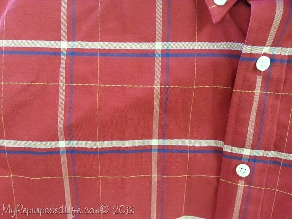 Goodwill Red Plaid Shirt