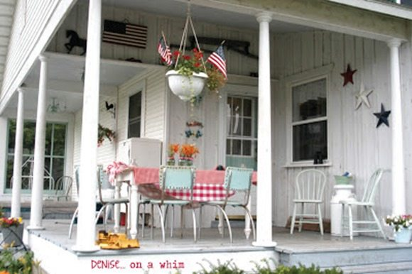 Mary's Vintage Back Porch