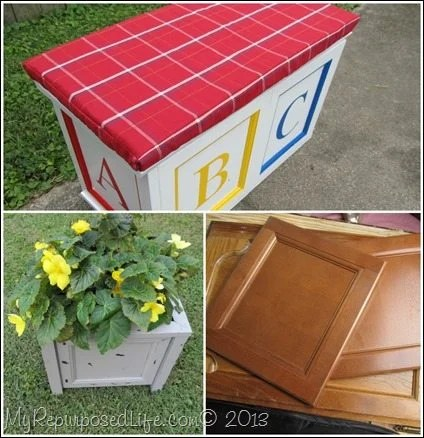 Repurposed Cabinet Doors - My Repurposed Life