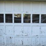 Chippy Garage door with Lead Paint