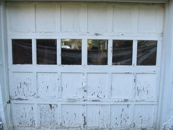 chippy weathered door