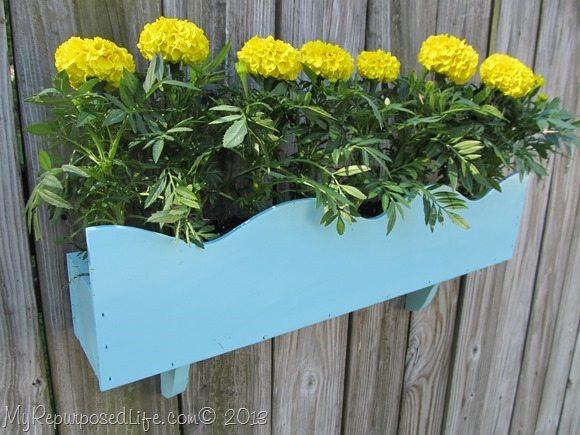 cornice flower box