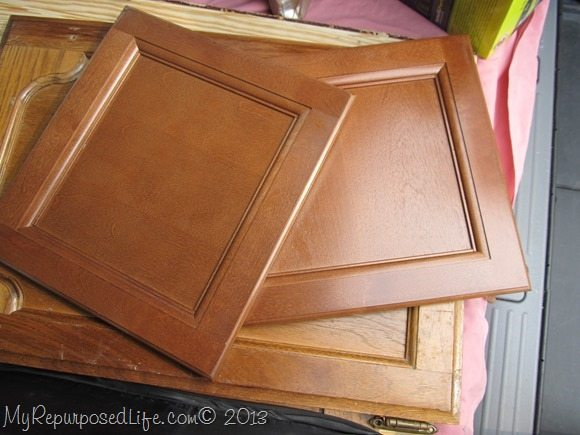 repurposed cabinet doors