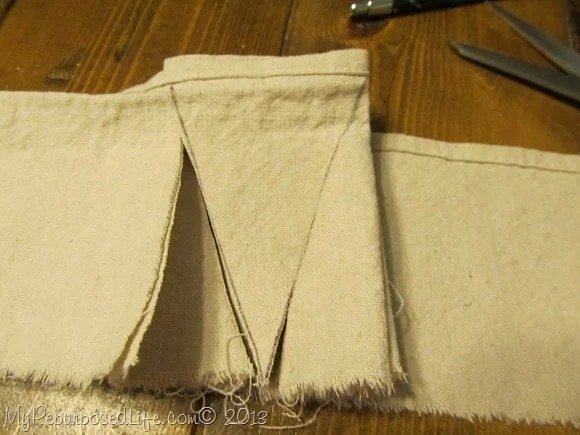 fold the bunting
