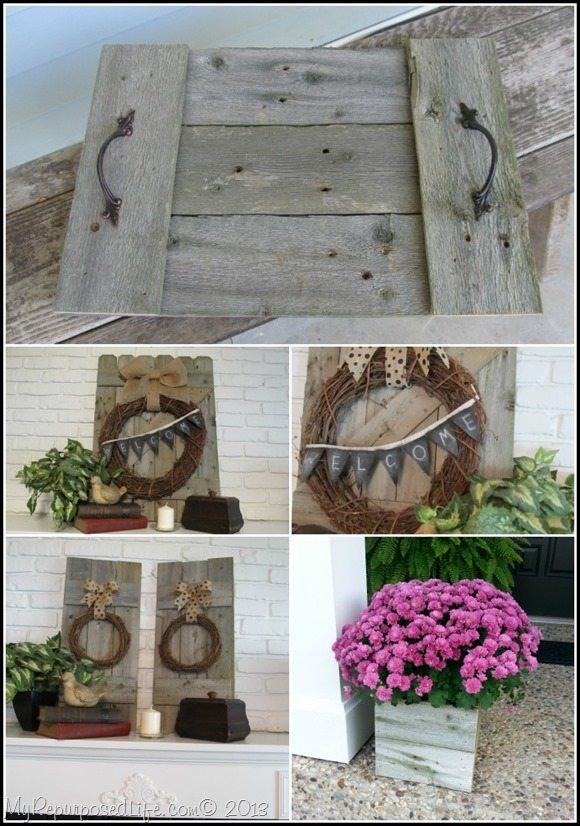 rustic fence projects