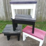 easy 2×4 bench/stool tutorial