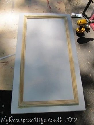 attach-picture-frame-molding-cabinet-door