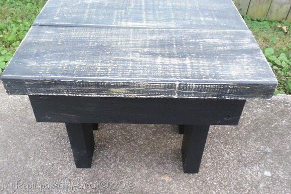 black-grey-stool-bench