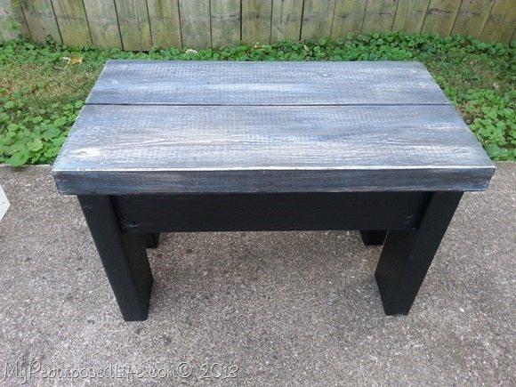 blue-grey-stool-bench