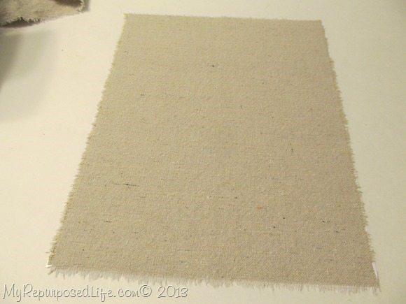 print on drop cloth fabric