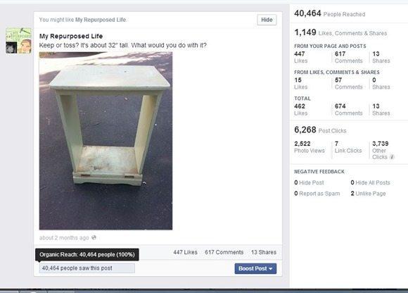 increase facebook reach
