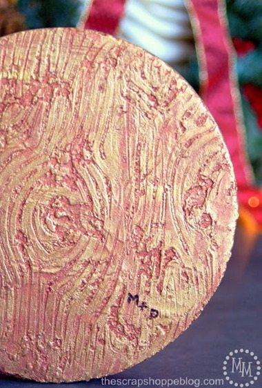 Styrofoam looks like wood