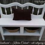 Headboard Entryway Bench | Kitchen Cabinet