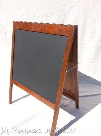 repurposed-crib-chalkboard-sandwich-board