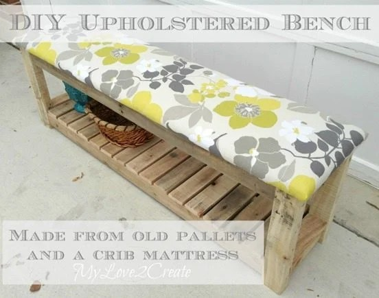 MyLove2Create pallet bench