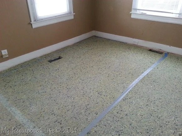removed-carpet-exposed-padding