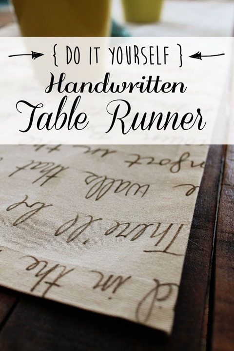 sharpie-handwritten-table-runner