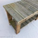 small outdoor garden bench from reclaimed fence