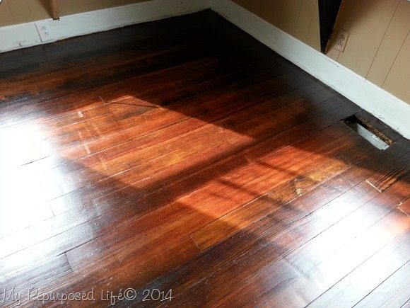 walnut-stained-floor-with-poly