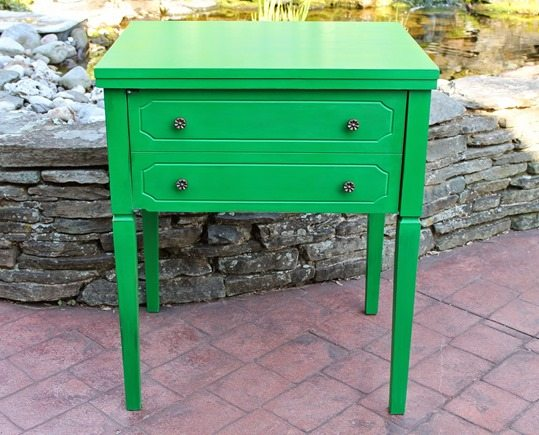 emerald-green-sewing-cabinet-nightstand