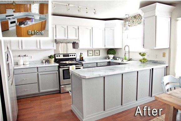 nuvo cabinet paint before and after | memsaheb.net