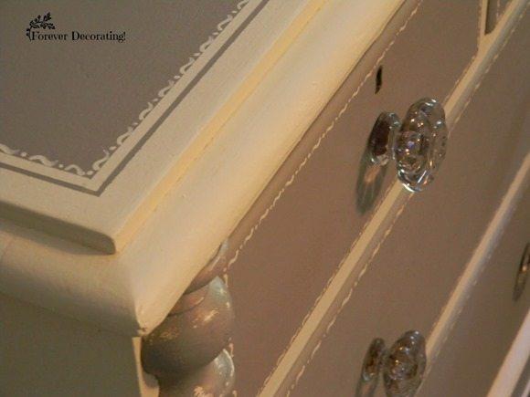 gray-white-stenciled-dresser