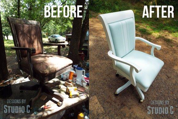 painted-vinyl-chair
