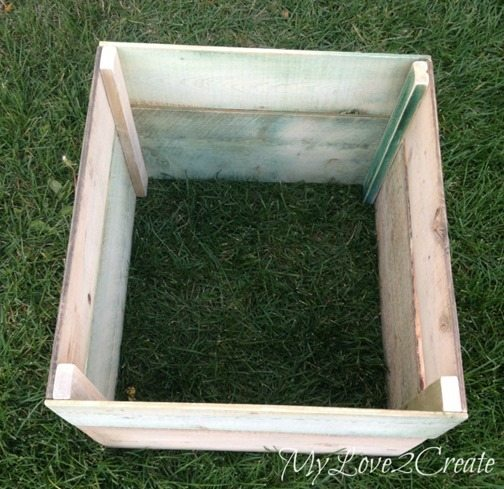crate without bottom