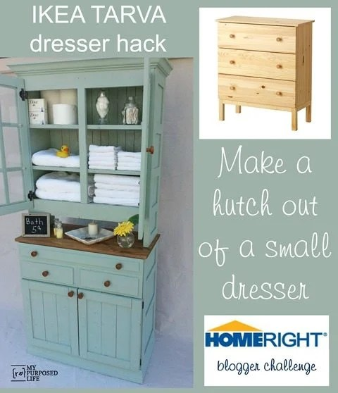 MyRepurposed-Life-IKEA-dresser-hack-hutch