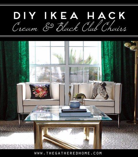 DIY-Ikea-Hack-Cream-Black-Club-Chairs-paracord-welting