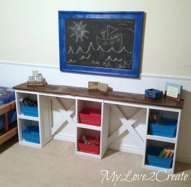 long kids desk