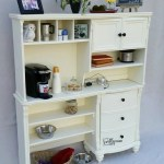 Kitchen Hutch Buffet from a Repurposed Desk
