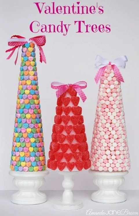 Valentine-candy-trees