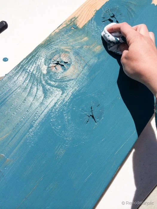 color-washing-painted-wood