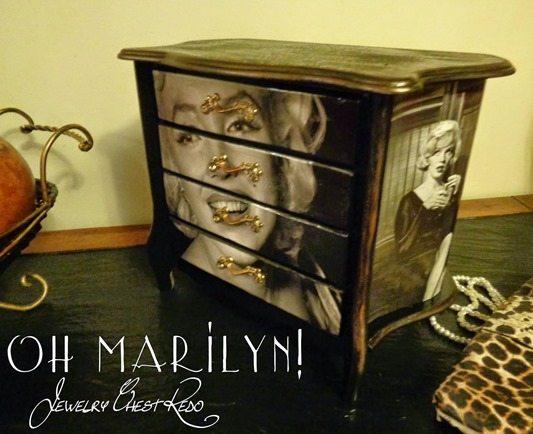 marilyn-monroe-decoupage-chest